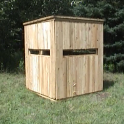 Productive Cedar Products Cedar Hinged Deer Blind