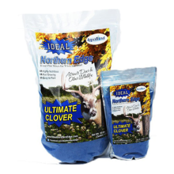 Ideal Northern Edge Ultimate Clover Food Plot Seed Mix - 2.5 Lbs
