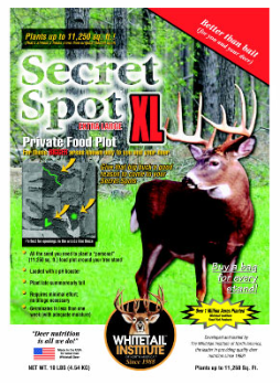 Whitetail Institute Secret Spot XL 10# ( 11,250 sq. ft.)
