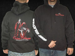 GrimReaper Hooded Pullover BLACK, 2-XL