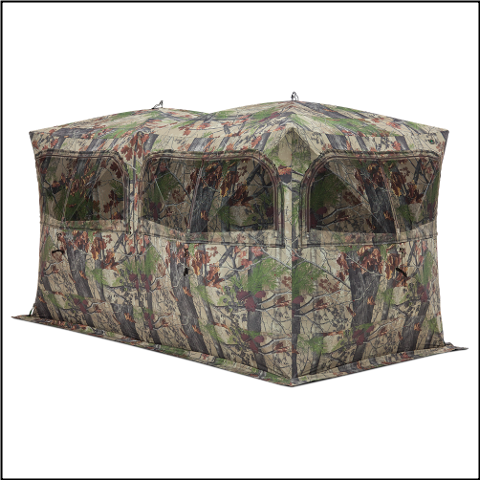 Barronett Beast Backwoods Camo Ground Blind - BE650BW