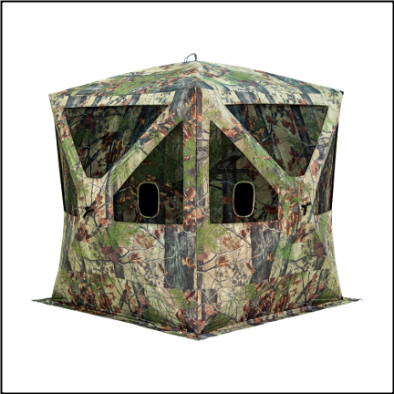 Barronett Big Cat Backwoods Camo Ground Blind - BC350BW