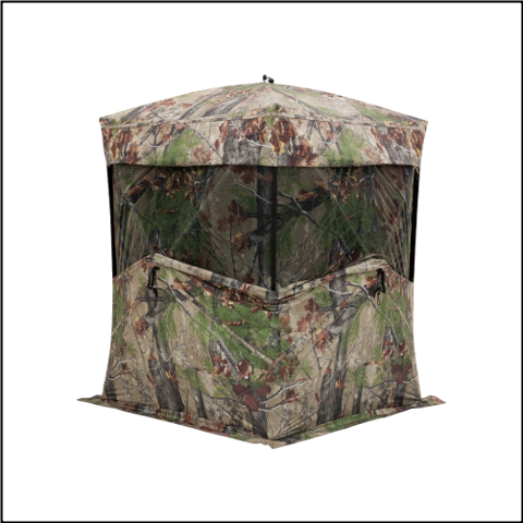 Barronett Big Mike 2.0 Backwoods Camo Ground Blind - BM12BW