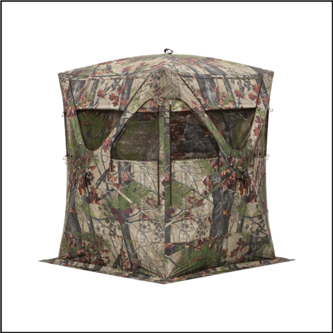 Barronett Big Mike Backwoods Camo Ground Blind - BM11BW