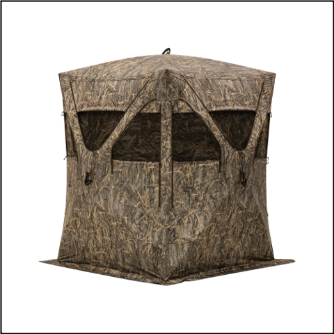 Barronett Big Mike Blades Camo Ground Blind - BM11BB
