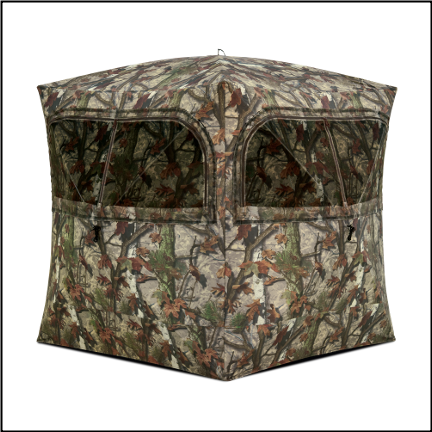 Barronett Grounder 350 Blood Trail Camo Blind - GR351BT