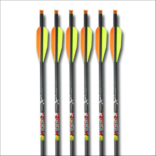 "Carbon Express Mayhem 20"" Xbolt Moon Nock/k  (6 Pack)"