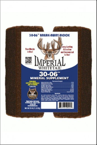 Whitetail Institute Imperial 30-06 Mineral / Vitamin Block