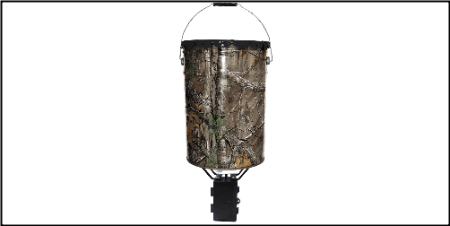 WildGame Innovations W50P - WGI Steel Quick Set 50# bucket feeder w/Photo cell timer