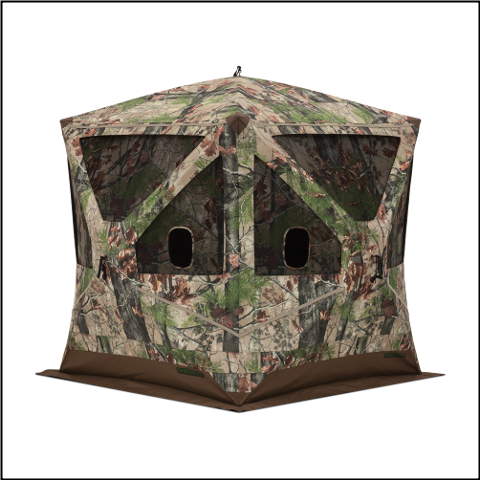 Barronett Big Ox Backwoods Camo Ground Blind - BX350BW