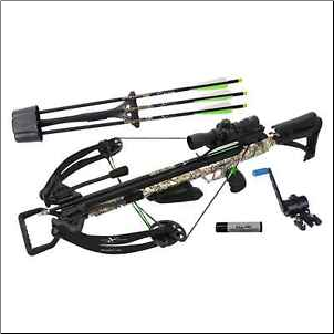 Carbon Express PileDriver Crossbow Kit w/Cranking Device