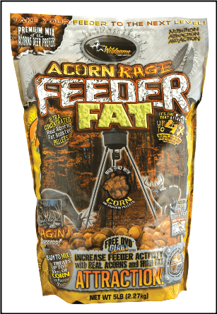 WildGame Innovations Acorn Rage Feeder Fat (5 lbs)