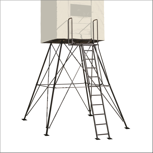 LandMark 10ft Tower for 600 Blind